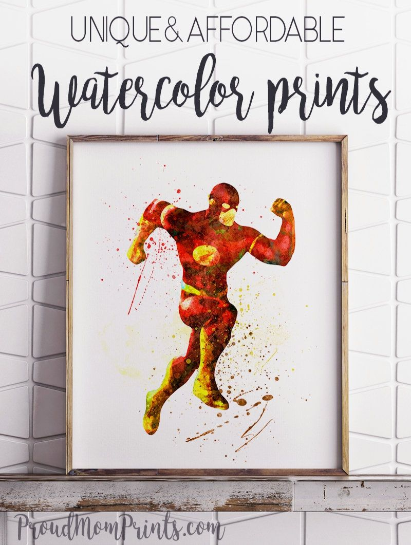 Justice League The Flash Art The Flash Wall Art The Flash The Flash Poster The Flash Decor Comics Wal Comics Wall Art Dc Comics Wall Art The Flash Poster