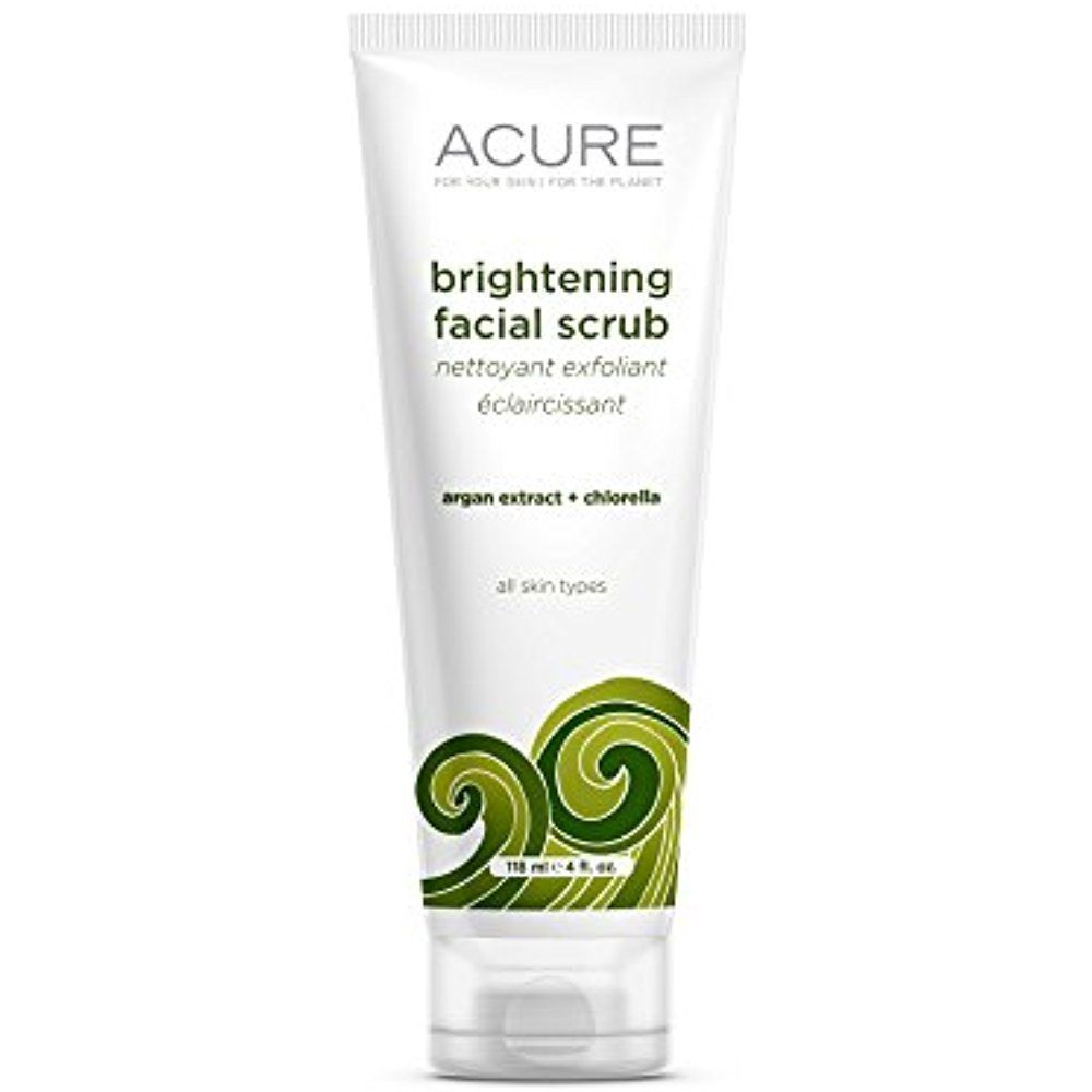 Details About Acure Brightening Facial Scrub Organics Sea