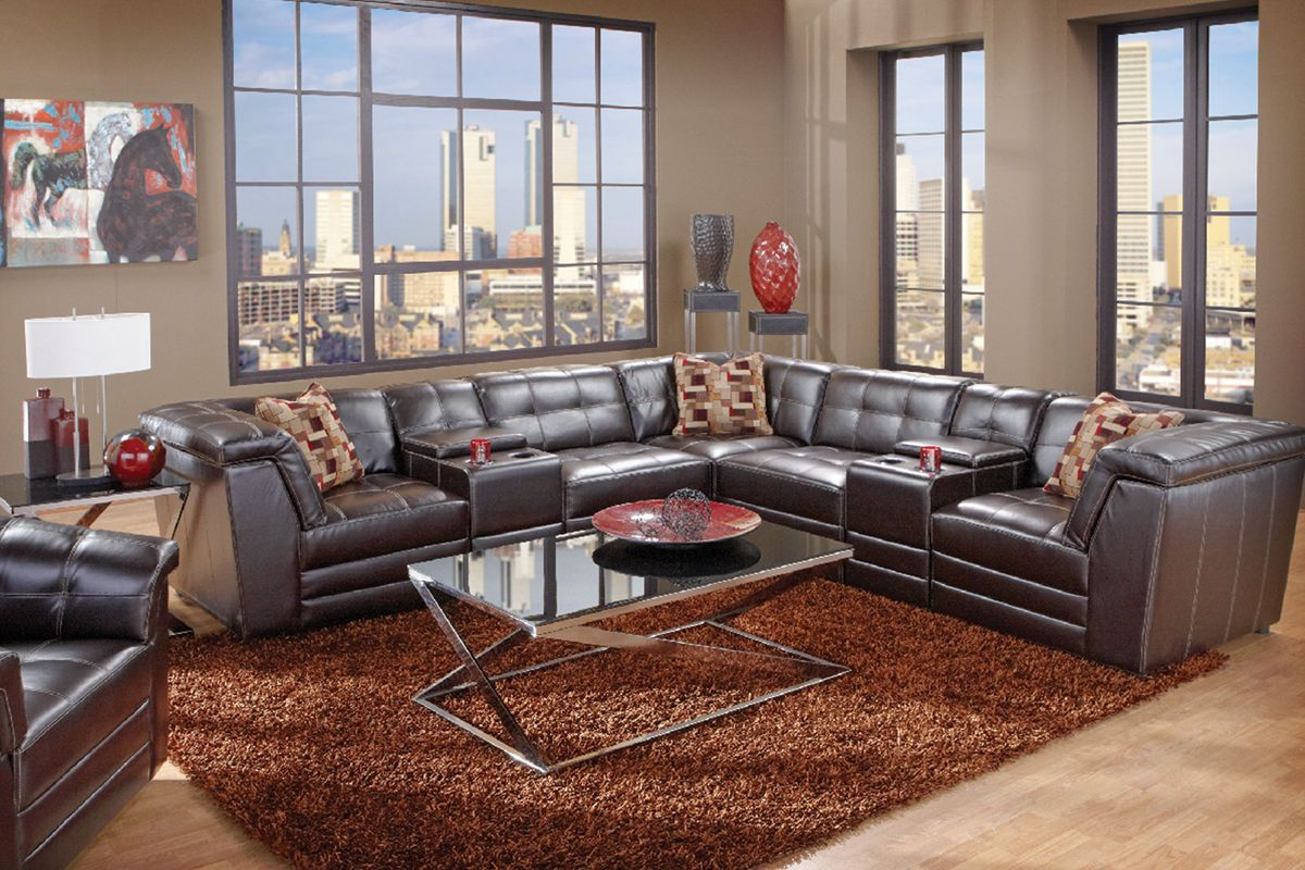 Channing Sectional from Gardner-White Furniture #gw2win | Gardner- White Furniture | Pinterest | White furniture Room and Living rooms : 7 piece sectional couch - Sectionals, Sofas & Couches