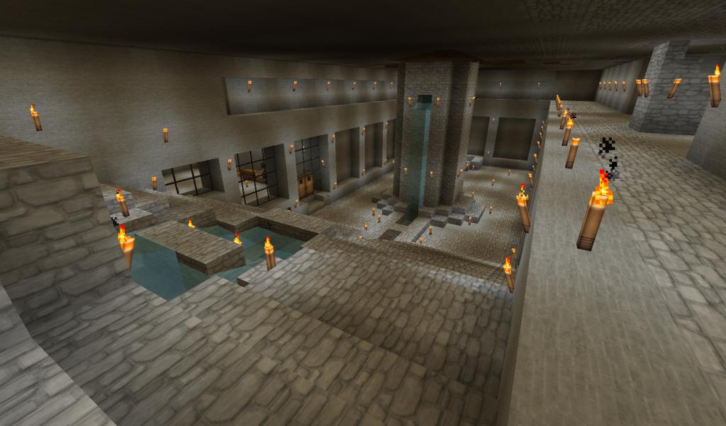 Minecraft underground base | Minecraft Inspiration