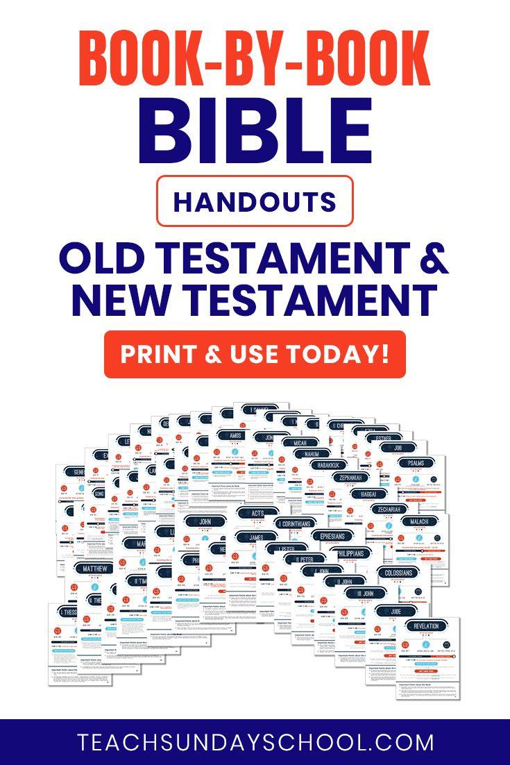 Bible Handouts