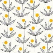 Papier peint Palm Tree jaune – Kinfolk – MissPrint