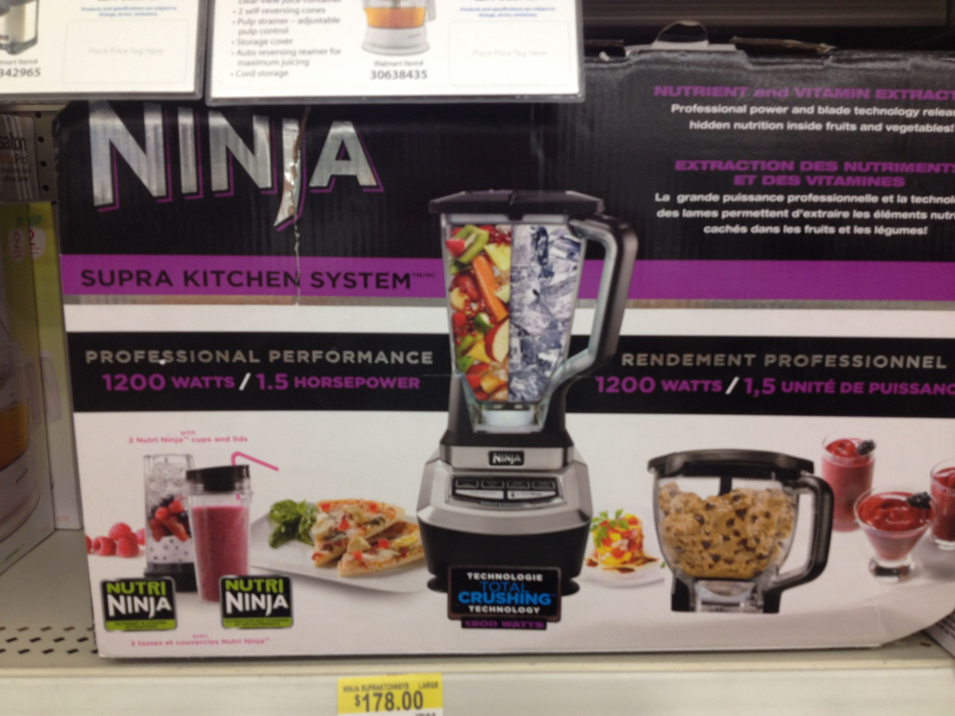cfm product kitchen serve ninja style blender system professional master with hayneedle single