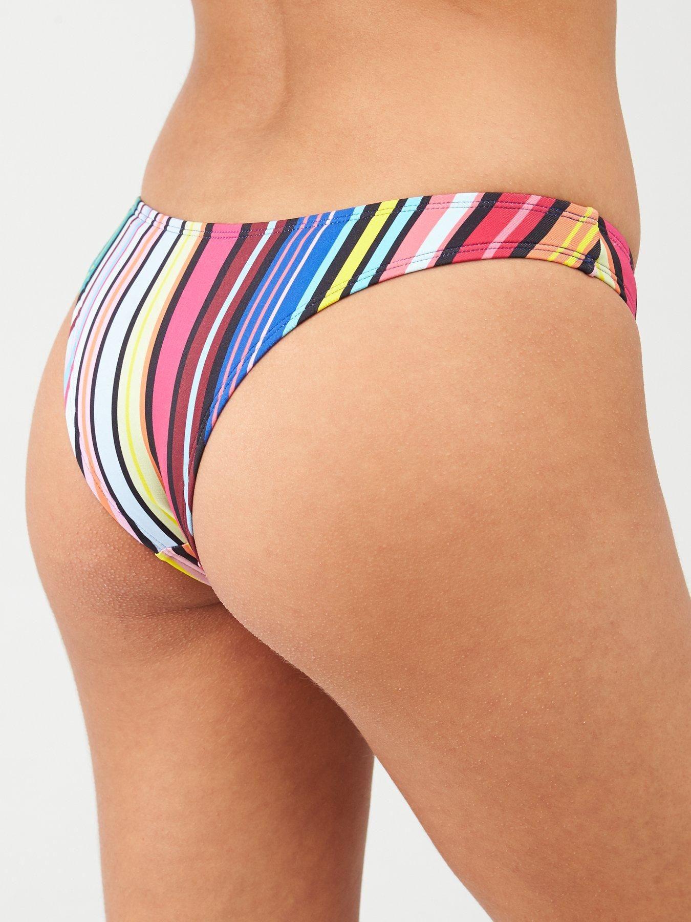 Dorina Tulum Brazilian Bikini Brief, Green, Size 8, Women – Green – 8
