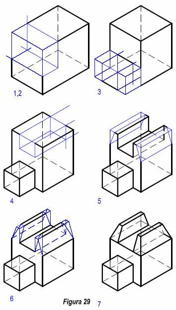 Tazado Deperspectivas Isometricas Tecnicas De Dibujo Dibujos De Geometria Vistas Dibujo Tecnico