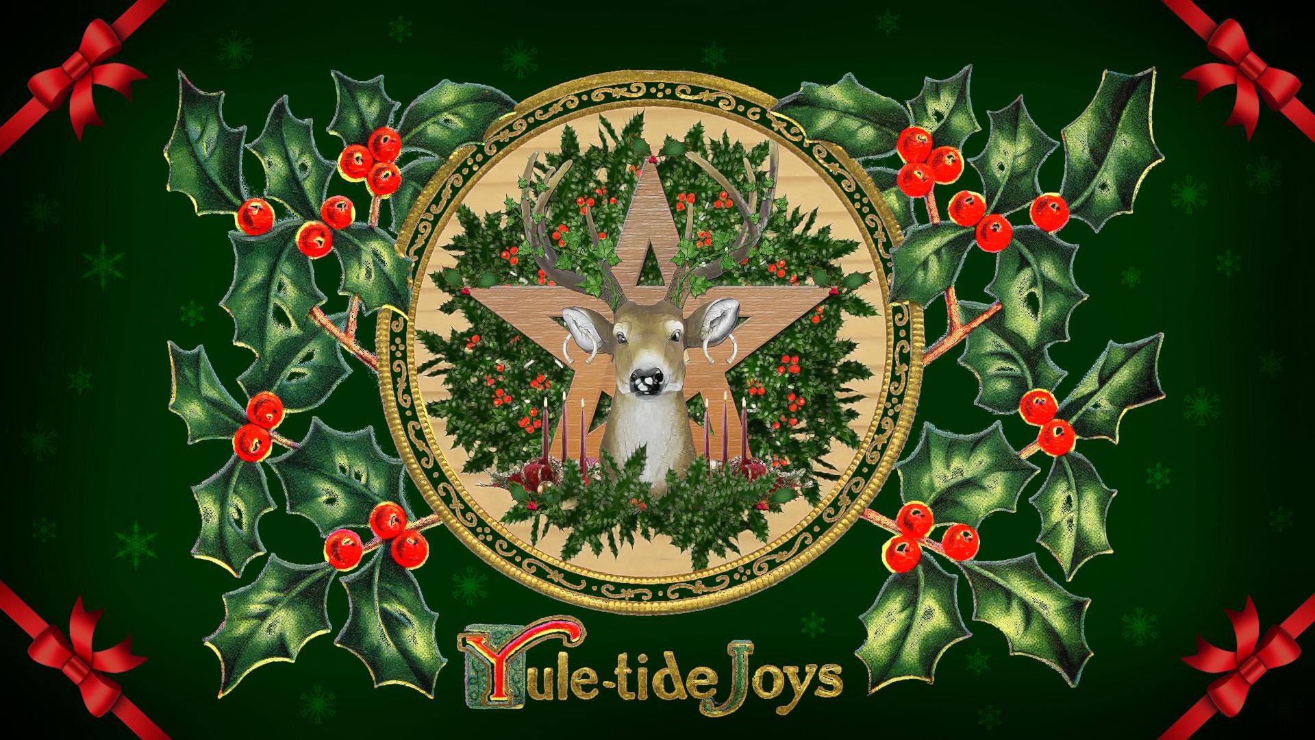 Yuletide Greetings Jb Stilwell Yule Winter Solstice