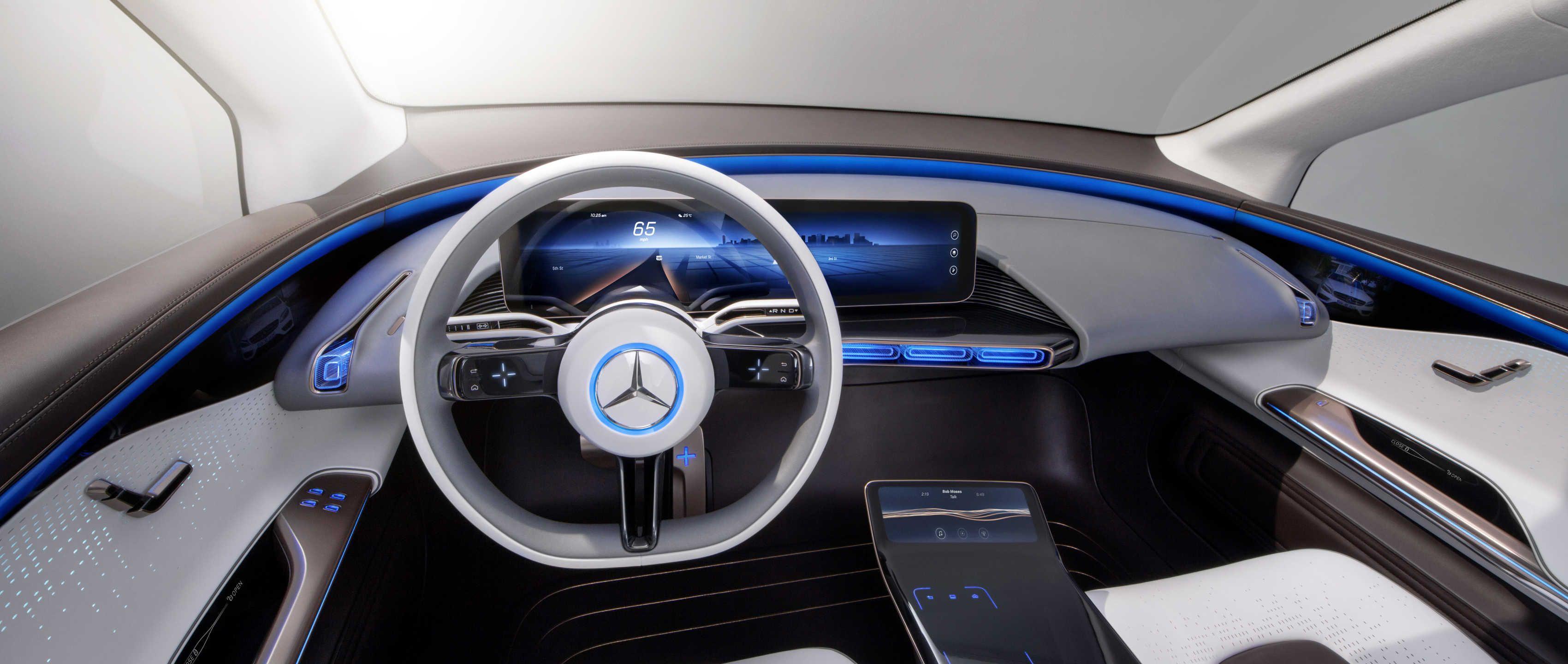 With Concept Eq Mercedes Benz Shows How Electric Cars Can Soon