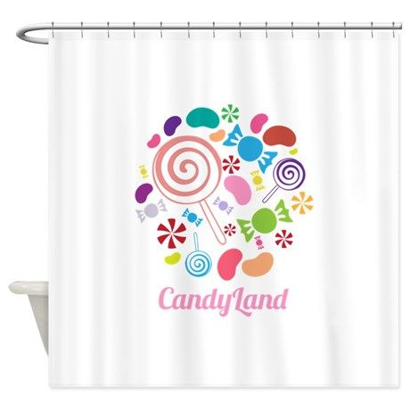 Candy Land Shower Curtain By Windmill Cafepress Candyland