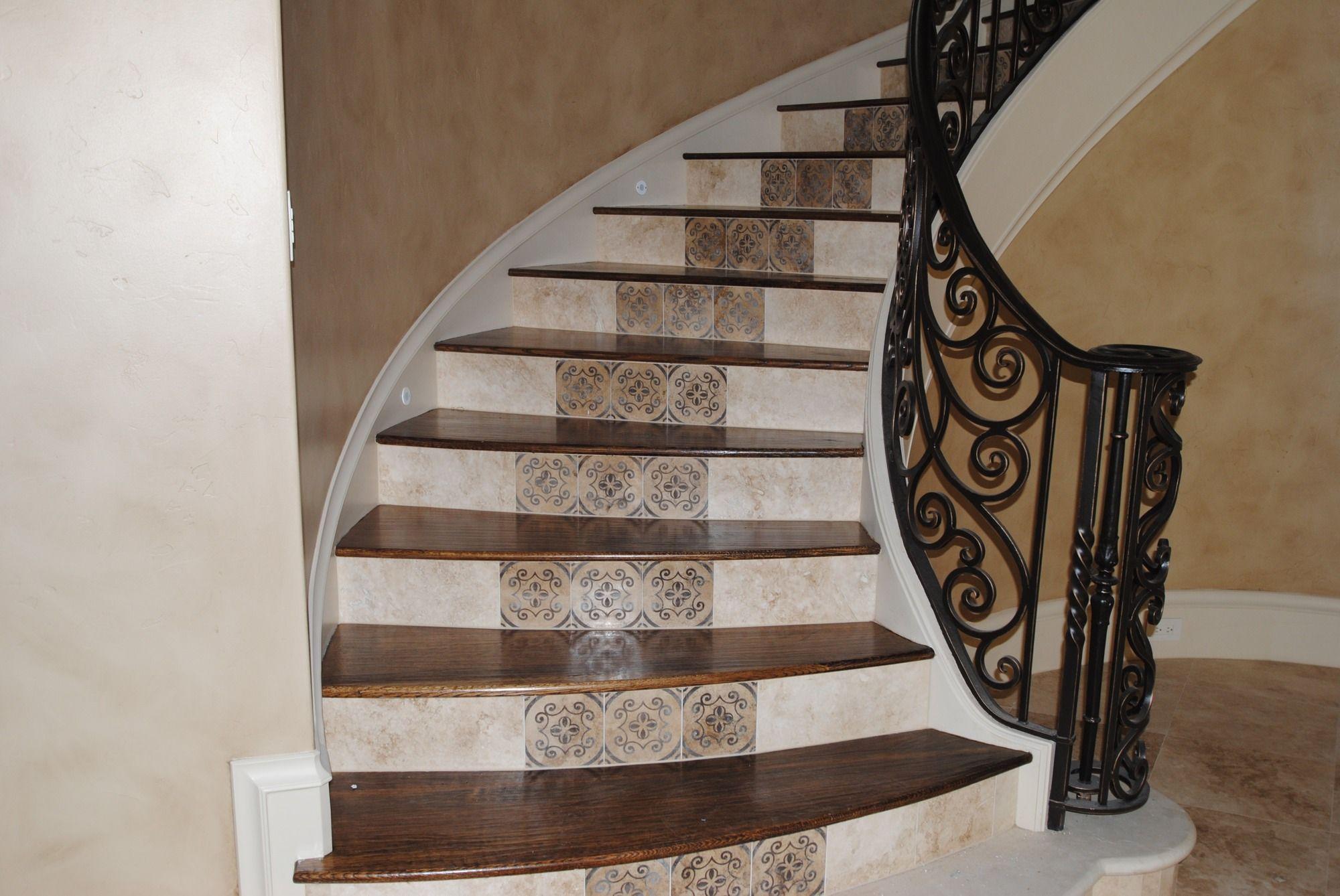 Best Tile Staircase Ideas Stair Cases Shelton Tile 400 x 300