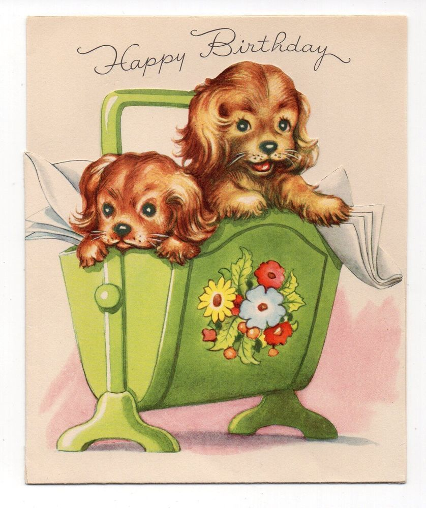 Man dog birthday card karenza special wedding invitation card design vintage birthday greeting card 2 adorable puppy dogs in basket 01dd258e3a8ddd45c90b6983094ceab3 771171136164043357 man dog birthday card karenza kristyandbryce Choice Image