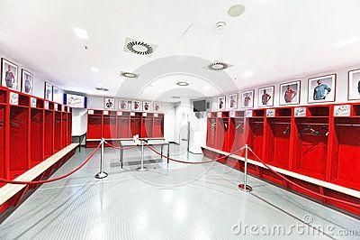 Dressing Room Dressing Room Locker Room Bayern