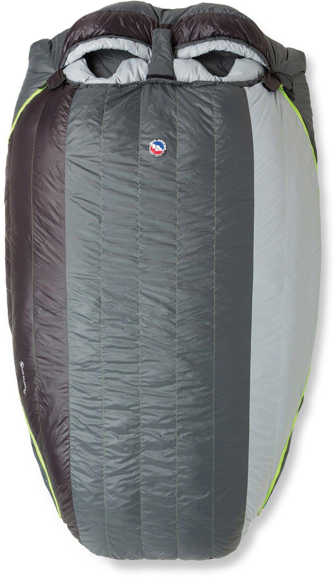 Big agnes unisex king solomon sleeping bag double camping