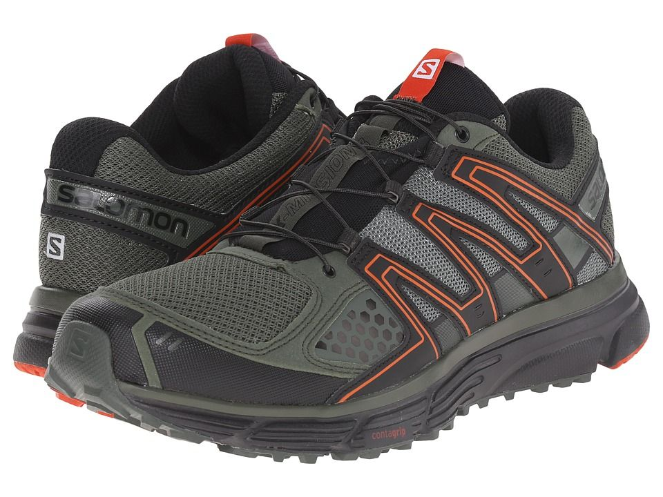 Salomon X Mission 3 Men's Shoes Night ForestBlackSolar