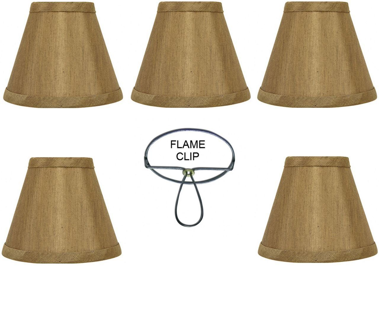 Mini chandelier shades clip on small lamp shades set of five bronze mini chandelier shades clip on small lamp shades set of five bronze silk type material arubaitofo Image collections