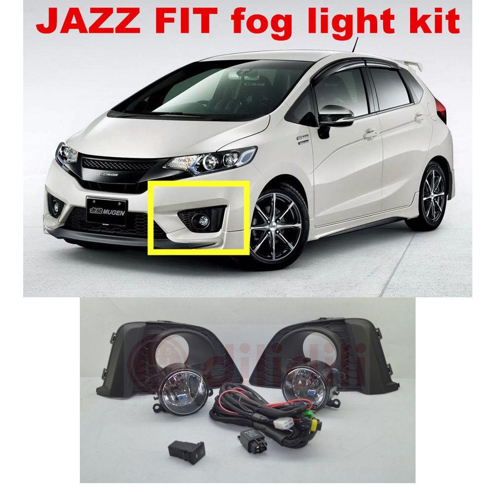 Fog Lamp Light Lamps Kit For Honda Fit Jazz 2017 2016