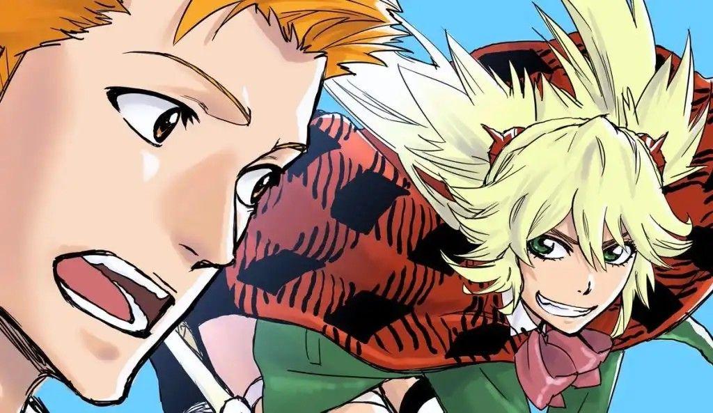 Bleach Burn the Witch Ichigo Spangle Estilo anime, Anime