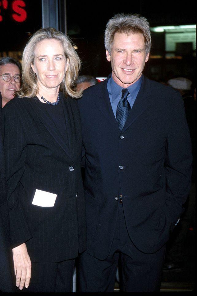 Harrison Ford And Melissa Mathison Harrison Ford Celebrity