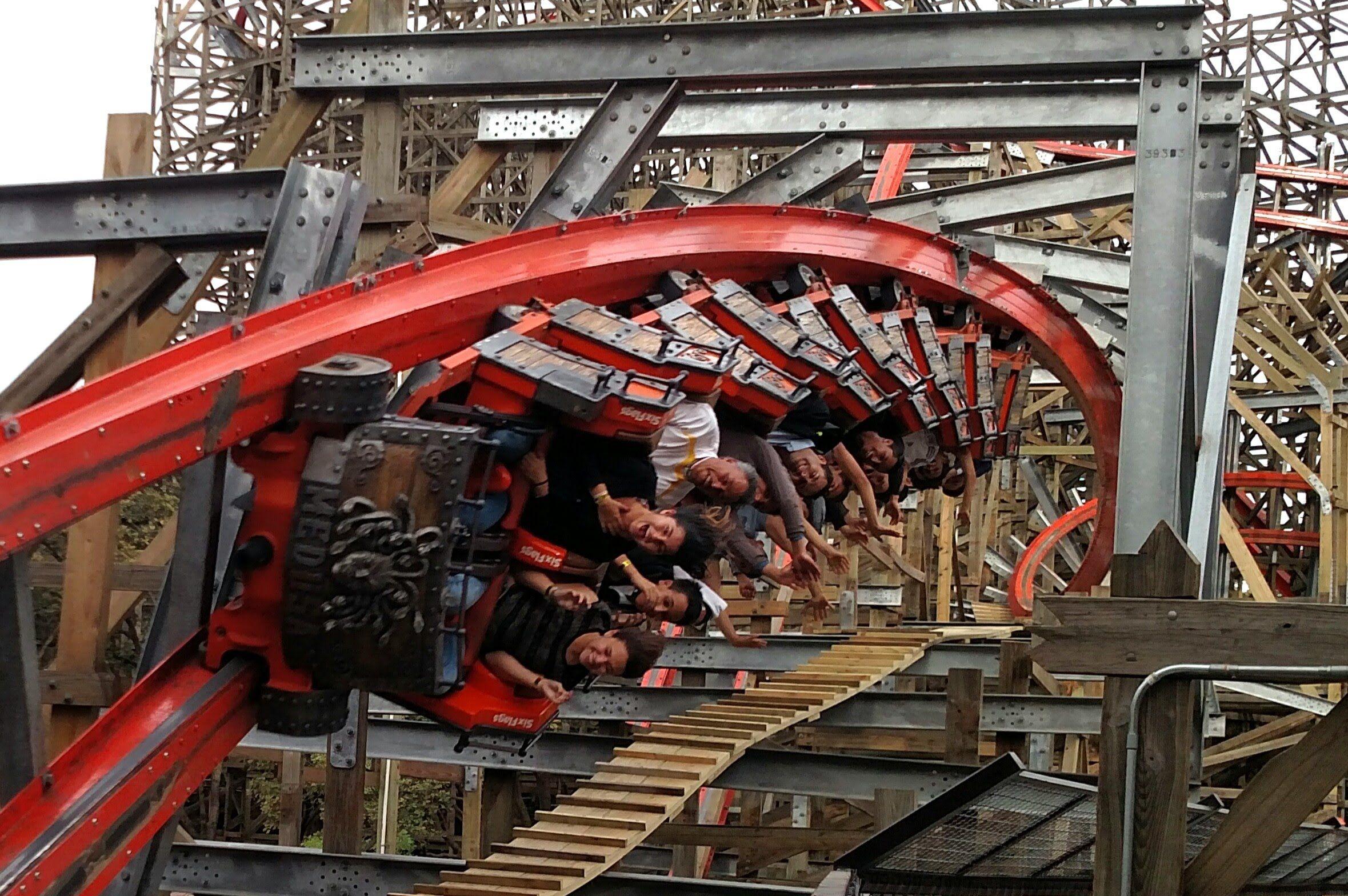 Medusa Steel Coaster Off Ride Hd Six Flags Mexico Six Flags Mexico Six Flags Roller Coaster