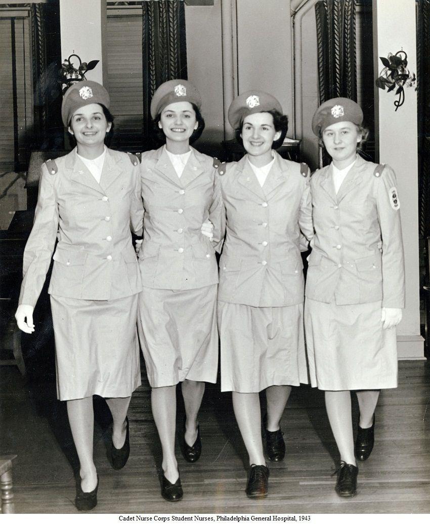 Women in WWII Cadet Nurse Corps Student Nurses