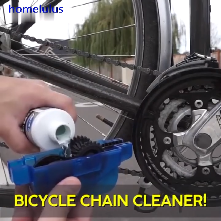 This Smart Bike Chain Cleaner Is Smartly Designed With An Extra