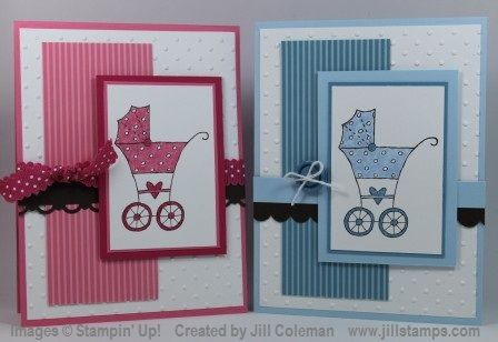 Baby Bundle Double Mojo Monday by jillastamps - Cards and Paper Crafts at Splitcoaststampers