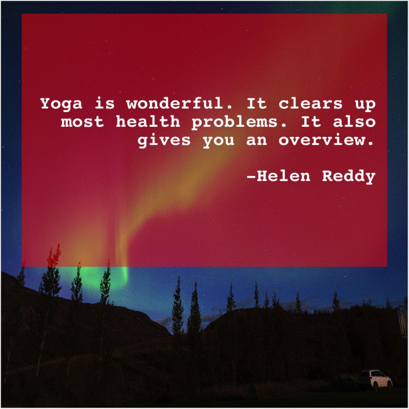 Helen Reddy Yoga Is Wonderful It Clears Valerie Bertinelli Helen Reddy Washington Irving