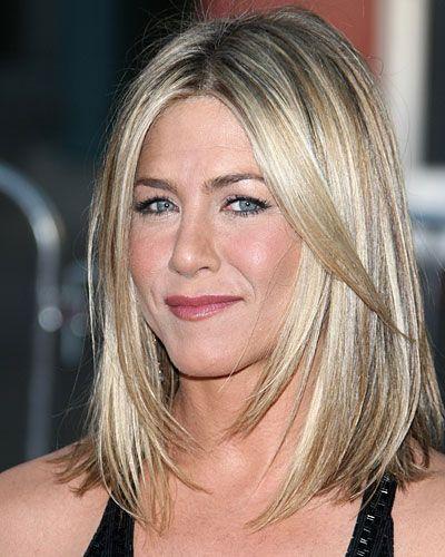 Diese Stars Lieben Den Neuen Long Bob Jennifer Aniston Pinterest