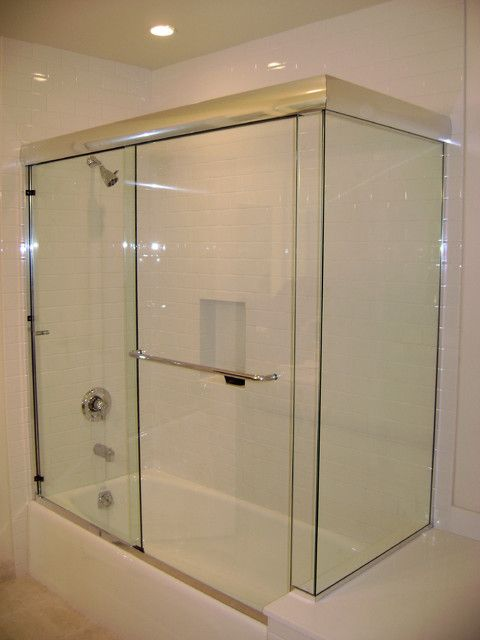 Frameless Sliding Glass Shower Doors For Bathtubs Glass Shower