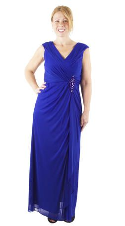 Cindy Collection Usa Chiffon Gown 1377