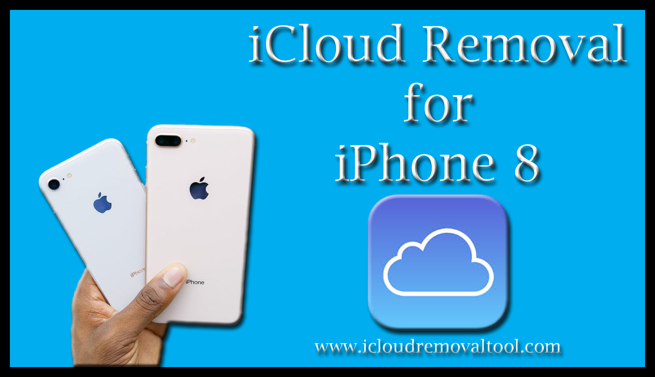 Removing iCloud accounts from the iPhone 8 devices will not
