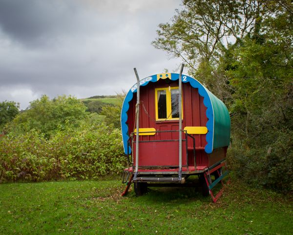 Irish caravan, Sligo, Ireland