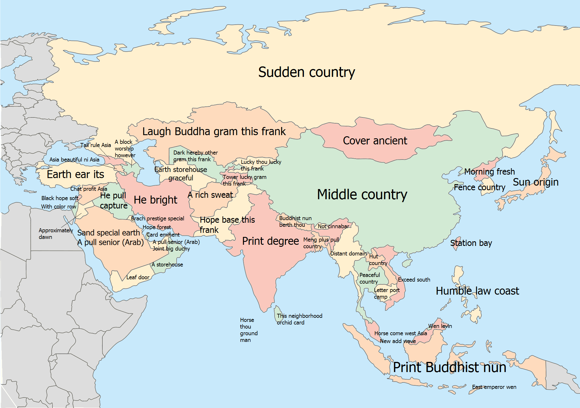 European and Near Eastern Names