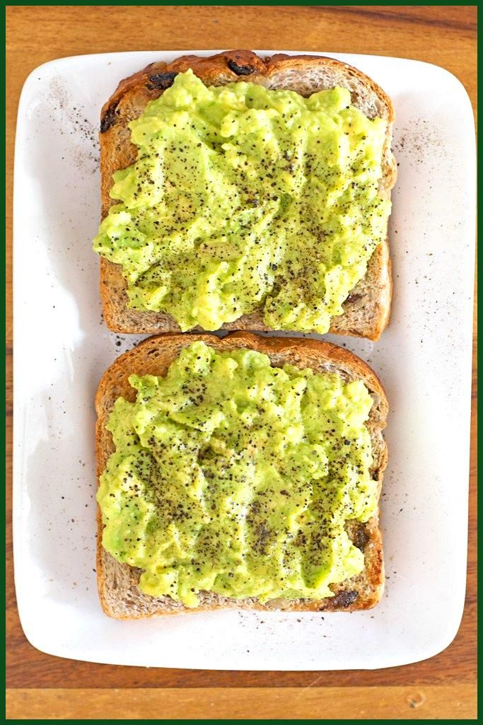 Simple Avocado Toast  The 20 Minute Kitchen Too busy for cooking dinner Make this Simple Avocado To