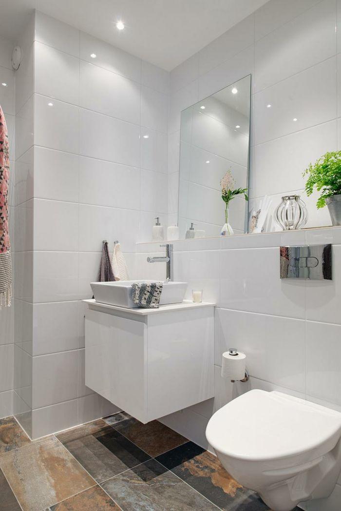 Wandgestaltung Bad 35 Ideen Fur Badezimmergestaltung Mit Fliesen Wandgestaltung Bad Badezimmer Design Kleines Badezimmer Umgestalten