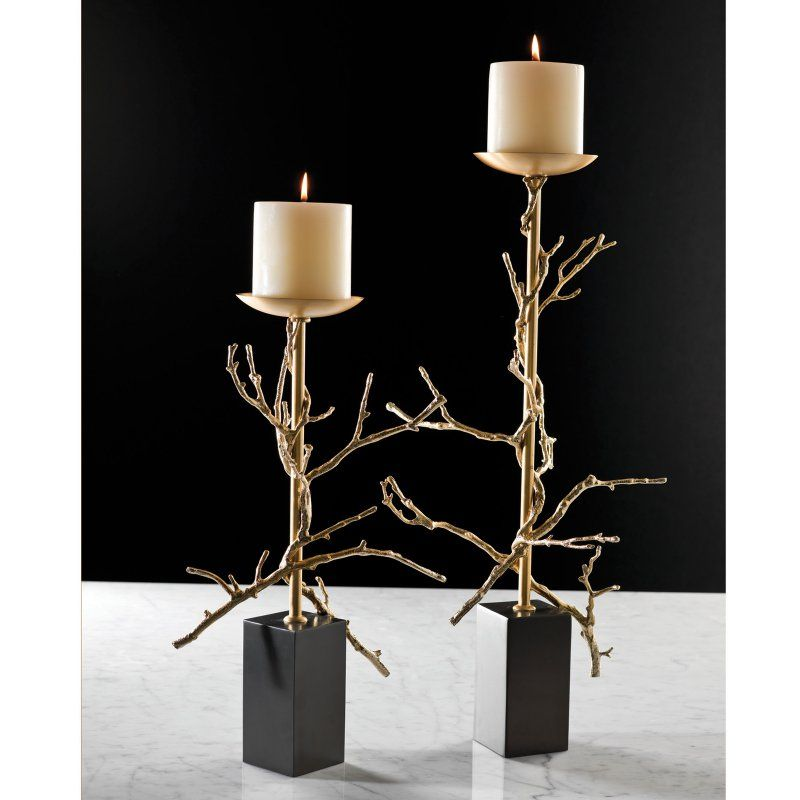 Global Views Twig Candle Holder - 9.9205