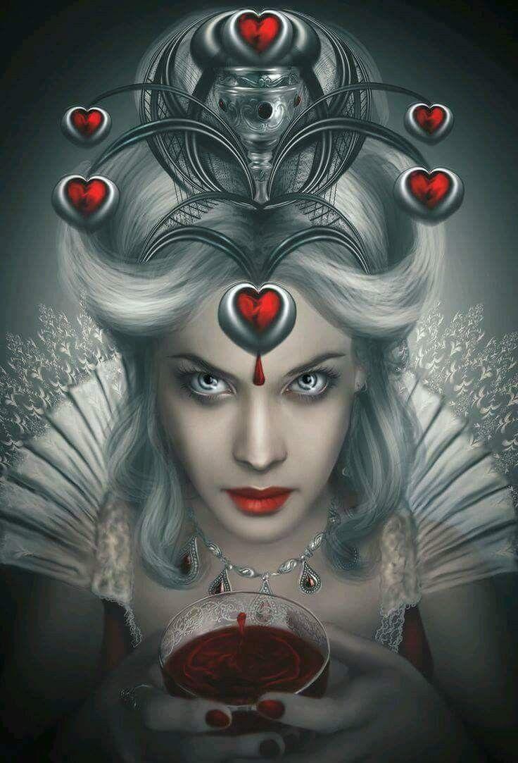 Countess Elizabeth Bathory (With images) | Fantasy art ...