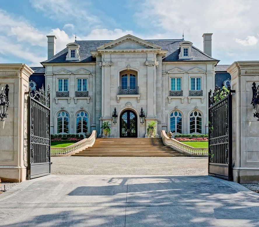 """Luxury Residence By Dallas Design: Homes Of The Rich On Instagram: """"Gated French Style"""