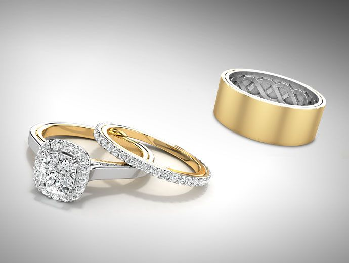 Two Become One Wedding Band Chris Ritchie Creations Wedding Ring Bands Wedding Bands White Gold Rings