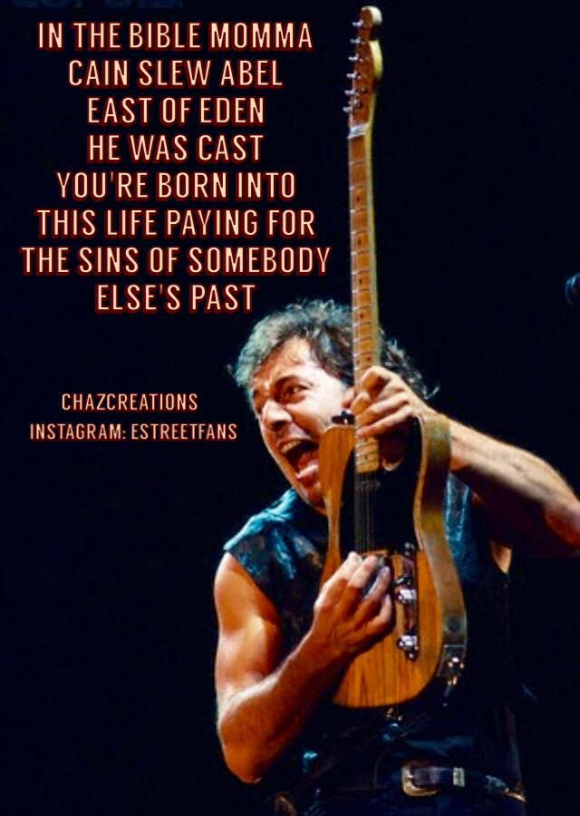 The Tramps Of Thursday.... Lost But Not Forgotten, In The Dark  Heart Of A Dream.   #Springsteen. #ChazCreations