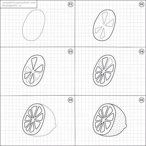 Random Things To Draw On Instagram How To Draw A Lemon 2020 Ajandalar Planner Sayfalari Cizim
