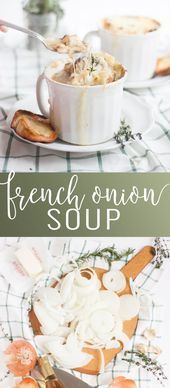 French Onion Soup Soup Appetizers Soup Appetizers dinners recipes dinner recipes side dishes paula deen recipes side dishes potlucks recipes side dishes ree drummond reci...