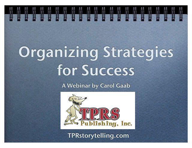 Organizational Strategies for Success
