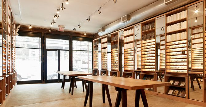 Warby Parker New York Outpost On Washington St