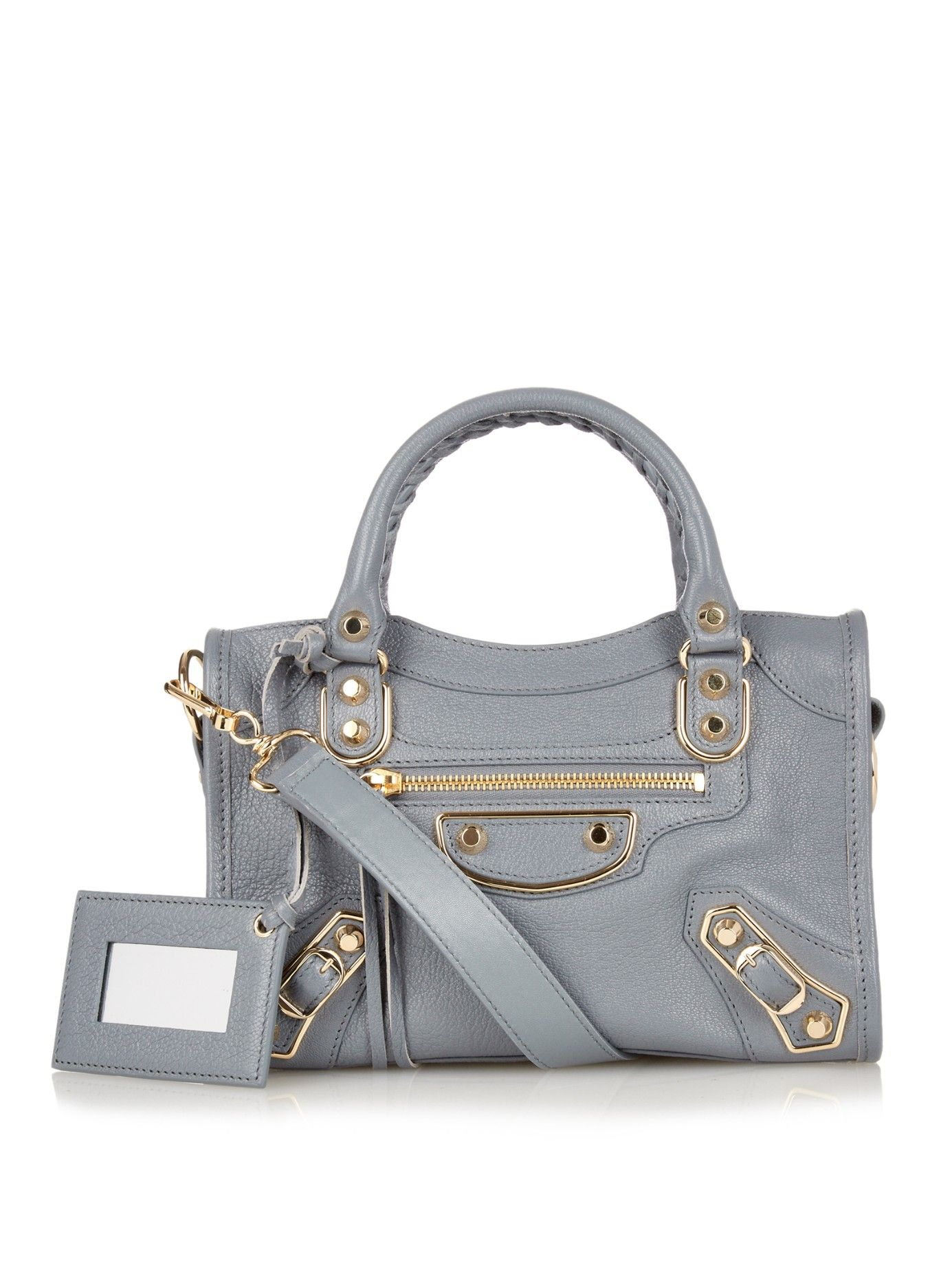 Classic Mini City Metallic Edge Cross Body Bag Balenciaga Matchesfashion Com Uk