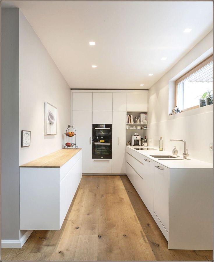 einrichten Küchen in u form, Küche holzboden