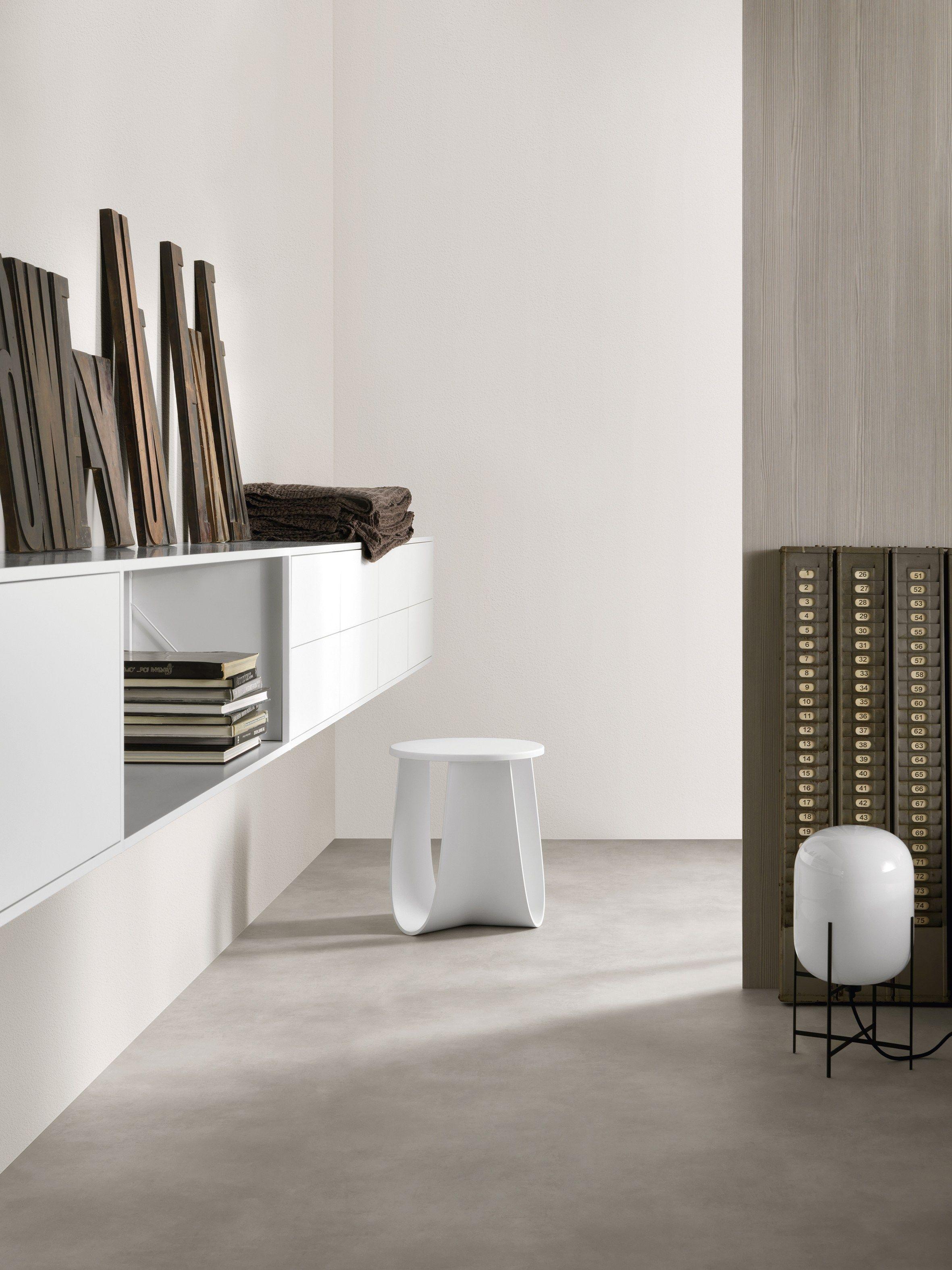 Libreria a giorno in alluminio MINIMA 3.0 By MDF Italia