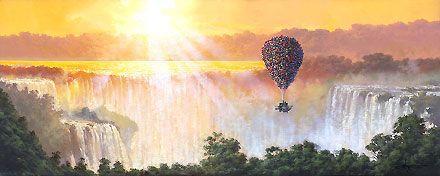 Up - The Adventure of Life - Rodel Gonzalez - World-Wide-Art.com