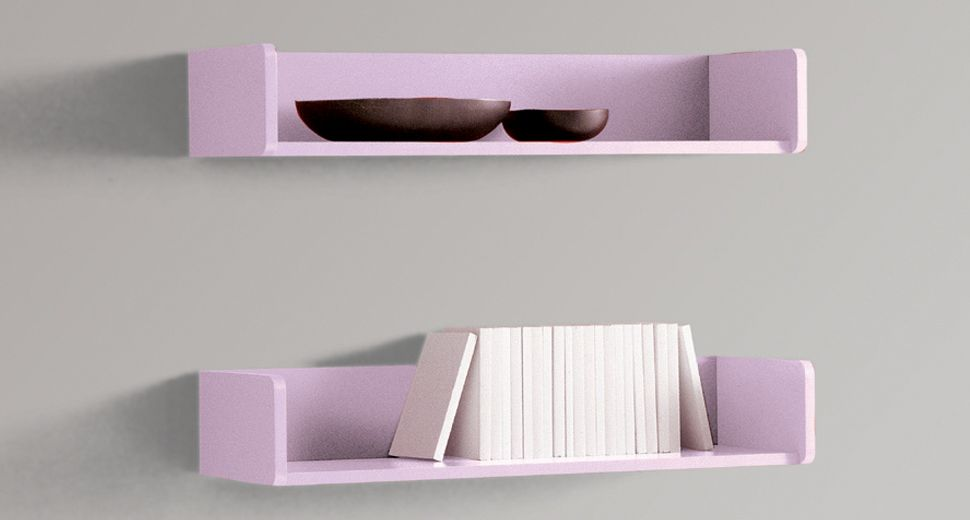 High Quality Shelves   Wall Shelves With Shelf Brackets Sight And Disappeared. Tray  Shelves And Wall Units