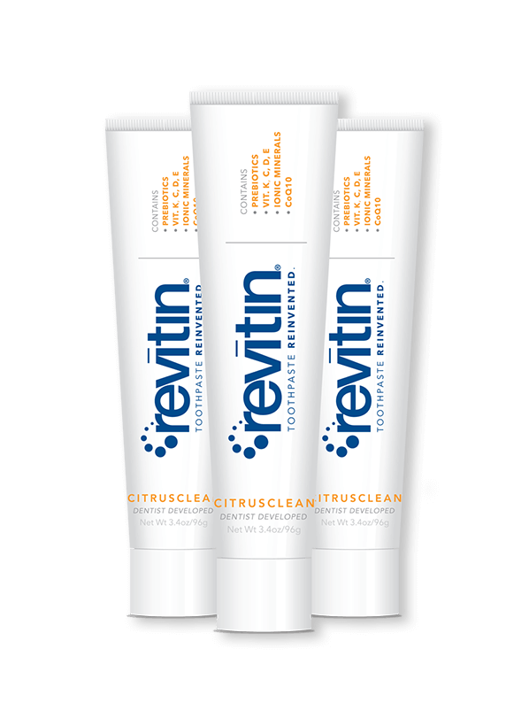 Revitin Family Pack Toothpaste brands, Natural toothpaste
