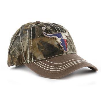 bd7148004a3 Boot Barn® Men's Longhorn Flag Camo Ball Cap | Ball Caps in 2019 ...